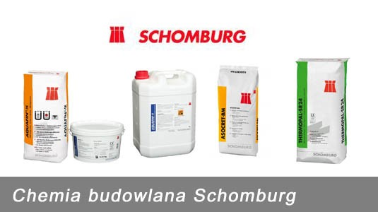 Chemia budowlana Schomburg